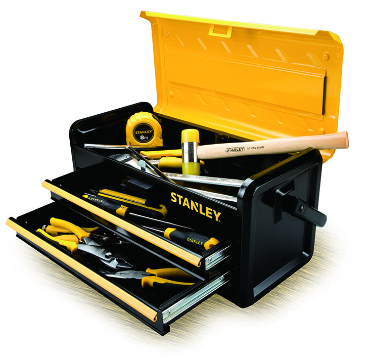 Una caja de tesoros - Caja de herramientas stanley ...