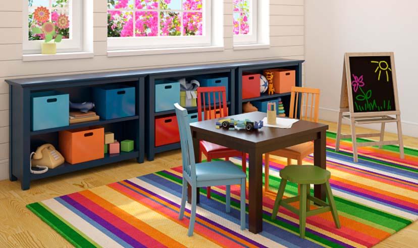 C mo organizar una habitaci n infantil for Como organizar mi habitacion