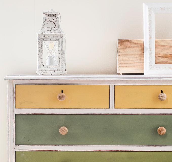 Transforma tu c moda vieja con pintura de tiza - Muebles la comoda ...