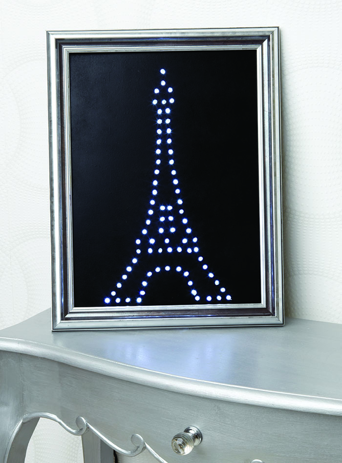 Un cuadro con luces lleno de glamour - Tablero dm leroy ...