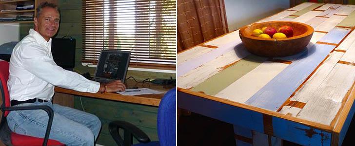 ucmis muebles de madera reciclada son nicos vivos y