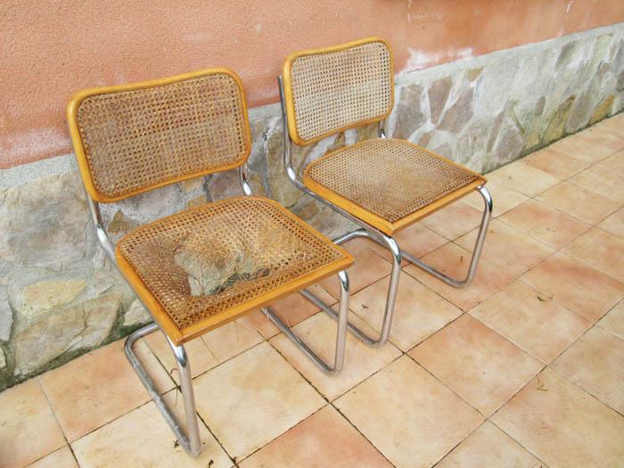 Restaurar un asiento de rejilla primer paso - Reparacion de sillas de rejilla ...