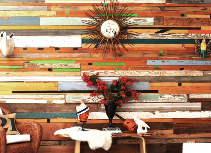 Renueva tus paredes con madera reciclada - Decoracion de paredes en madera ...