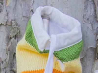 Funda de sombrilla tricotada por ti for Tela para sombrillas