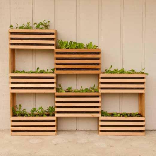 Huerto de pared cultiva tus verduras - Huerto en la terraza ...