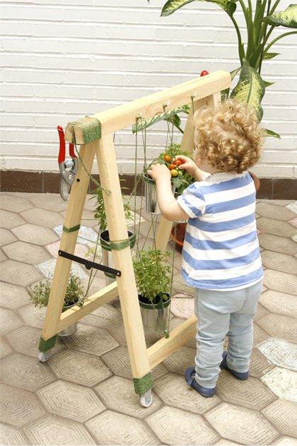 Un huerto para el balc n for Juego de jardin para balcon