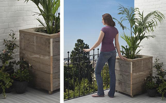 Como hacer jardineras de madera jardinera de madera - Jardinera de madera ...