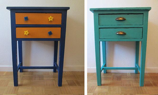 Renovar una mesa con pintura especial para lacar - Lacar una mesa ...