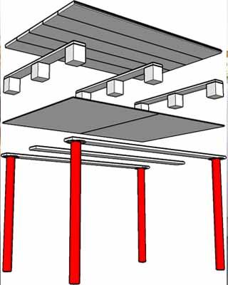 Muebles con palets c mo construirlos for Muebles con palets planos