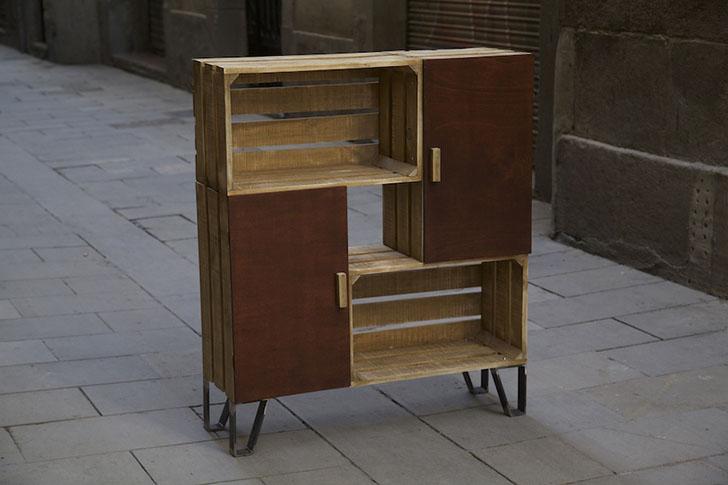 Paletos muebles hechos con pal s - Muebles originales reciclados ...