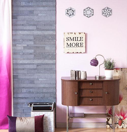Corta y pega piedra natural en tus paredes - Paneles de piedra natural ...