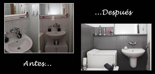 Pintar los azulejos del ba o y renovarlo sin obras - Pintar azulejos de cocina ideas ...