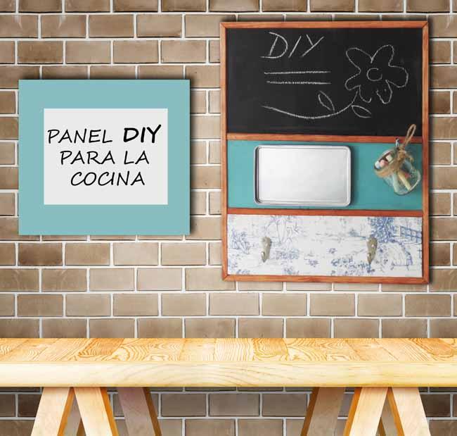Panel de accesorios para la cocina - Panel pared cocina ...